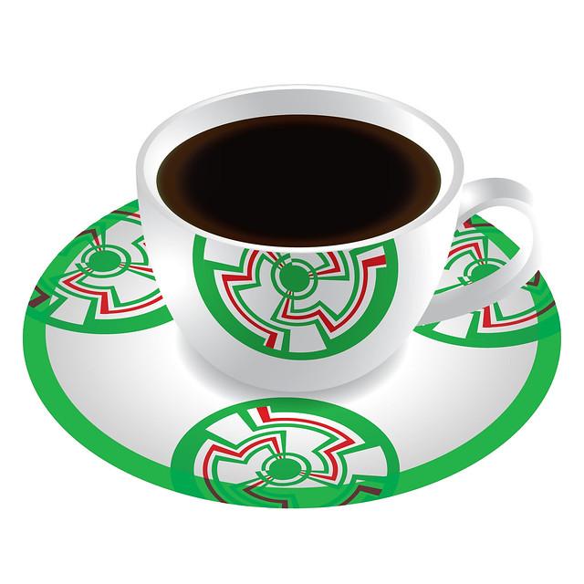 Bourbon Coffee Christmas Designs Coffee Cup Angle