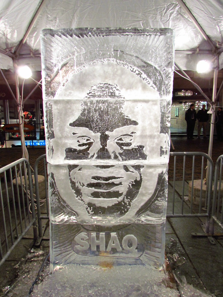 New Year's Eve 2010 in Boston - Ice Sculptures | Boston's ...