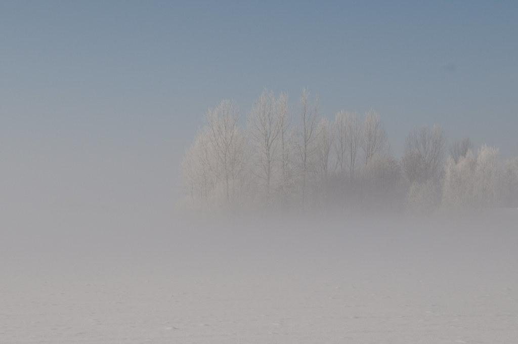 Lith, Mist over sneeuw Fog over snow