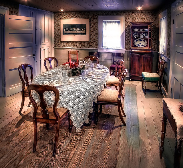 Parsonage dining room