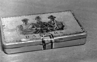 Old cigarette box