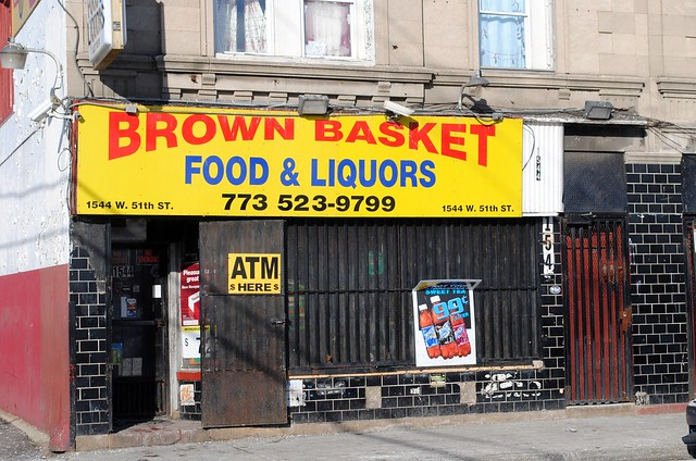 Brown Basket, 1544 W. 51th St. Chicago, Illinois