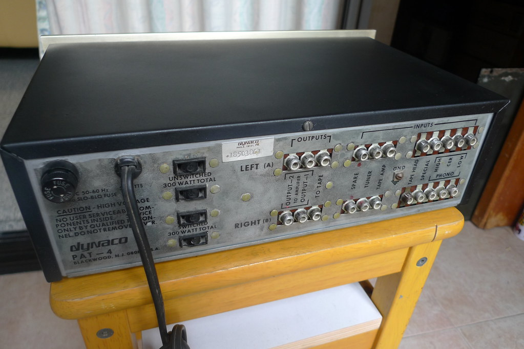 Dynaco PAT 4 preamp (Transistor)   leowilawan15   Flickr