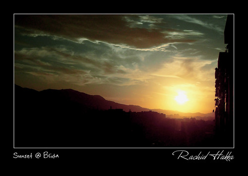 sunset algeria northafrica algerie blida romeohotel byromeohotel samsungsl203 блида