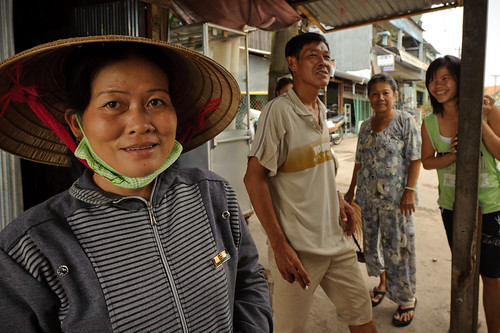 Vietnamese Ferry Ticket Seller | by goingslowly