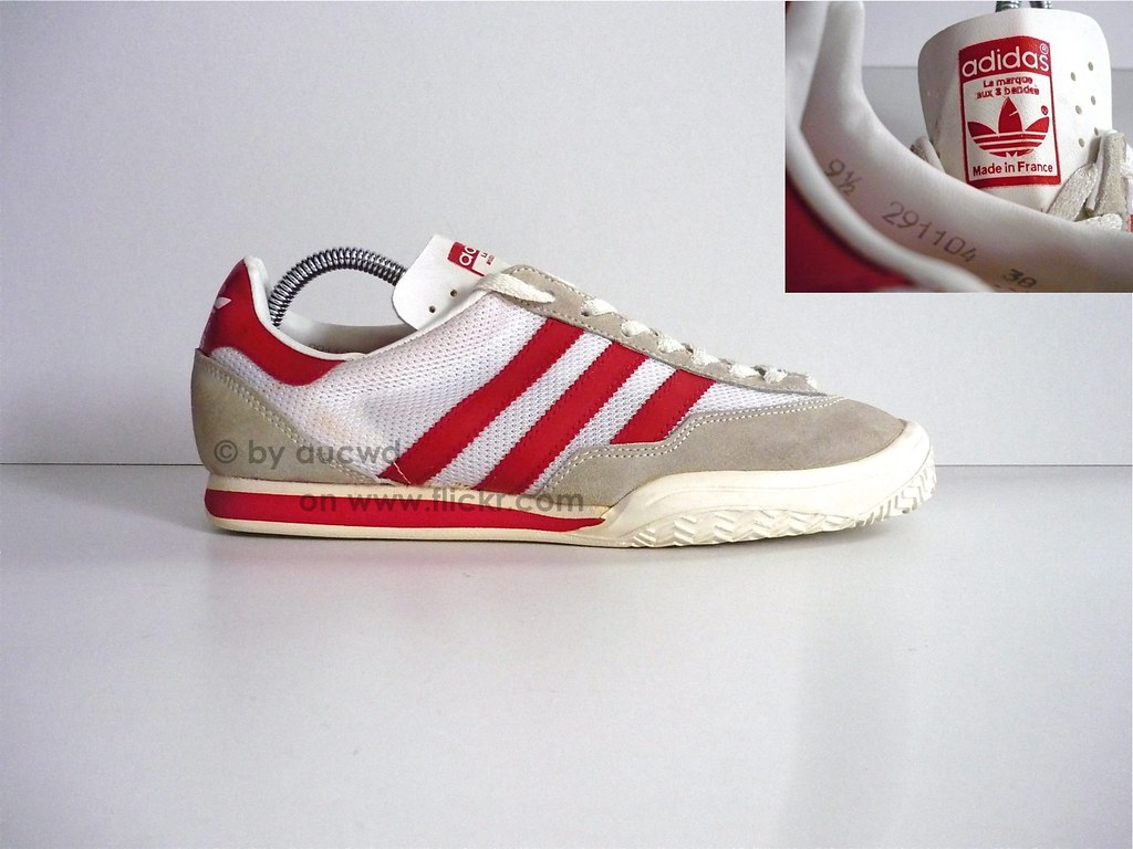 70`S 80`S VINTAGE ADIDAS VOLLEYBALL SHOES original 70  made in france