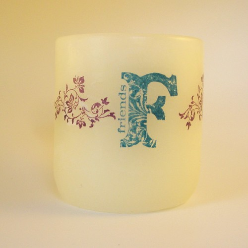 Vintage_Friends_Candle_FS | by Be Inspired By Dawn