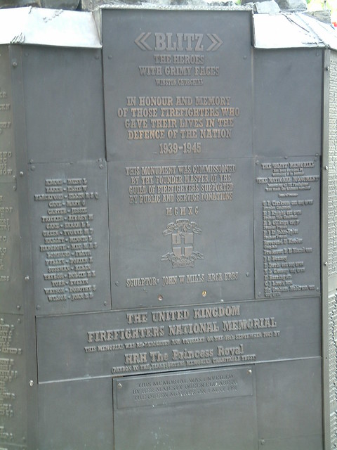 The United Kingdom Firefighters National Memorial