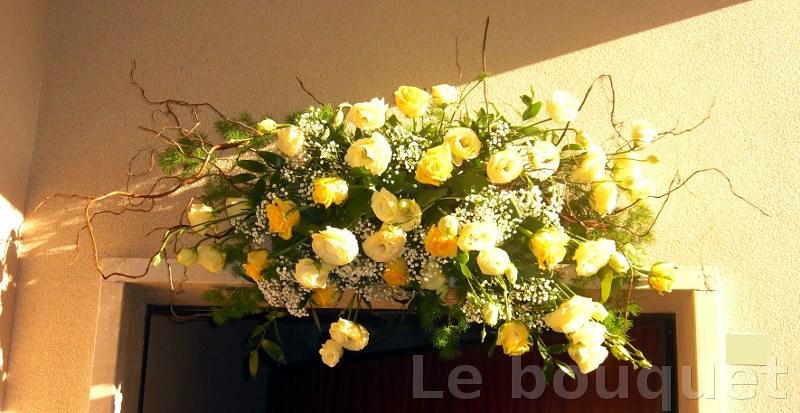 Bouquet Della Sposa.Fluidr Addobbo Della Porta Di Casa Della Sposa By Le Bouquet