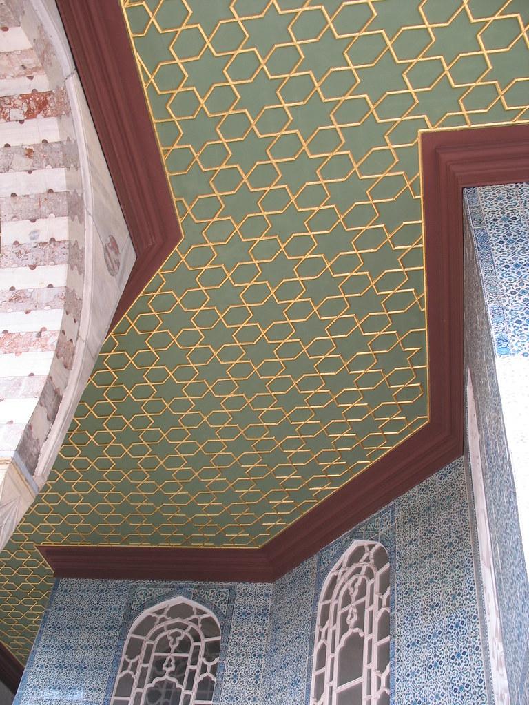 Ceiling detail, the Baghdad Pavilion
