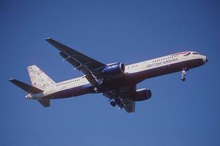 134az - British Airways Boeing 757-236; G-BIKY@ZRH;23.06.2001 | by Aero Icarus