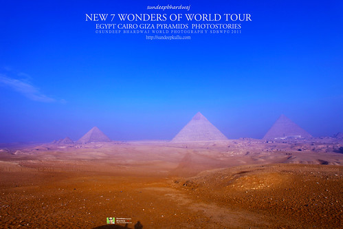PYRAMIDS GIZA CAIRO EGYPT GIZA PYRAMIDS COMPLEX NEW 7 WONDERS OF WORLD TOUR PHOTOSTORIES  4938 AWFJ | by SDB Fine Art Travel of 2 Decades to 555+ Places Ph