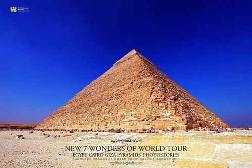 PYRAMIDS GIZA CAIRO EGYPT GIZA PYRAMIDS COMPLEX NEW 7 WONDERS OF WORLD TOUR PHOTOSTORIES  5626 AWFJ | by SDB Fine Art Travel of 2 Decades to 555+ Places Ph
