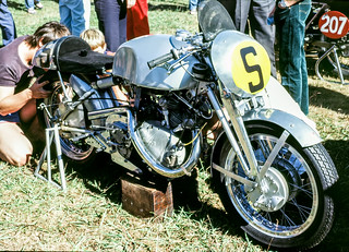 John Surtees Vincent 500cc Grey Flash | by jorvikiwi