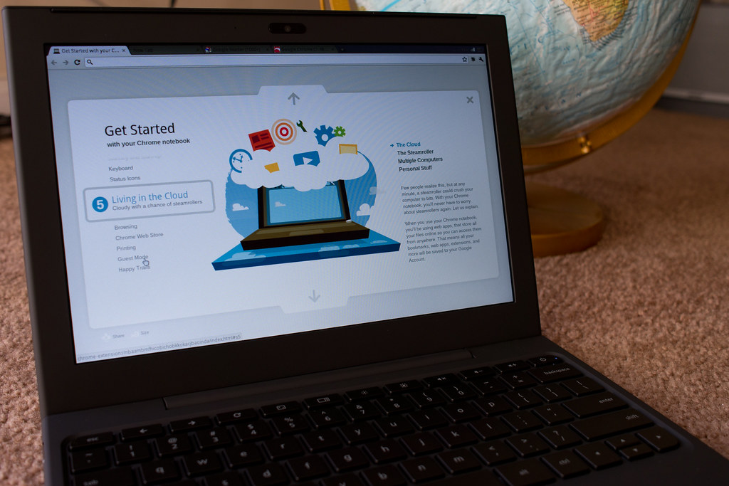 Google Chrome OS Cr-48 laptop   Today, FedEx delivered what …   Flickr