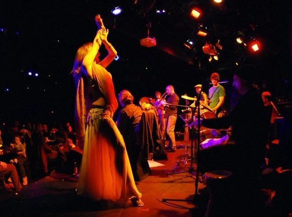 Dancing with Anistar and Le Poisson Rouge - photo by Siobhan DeStefano