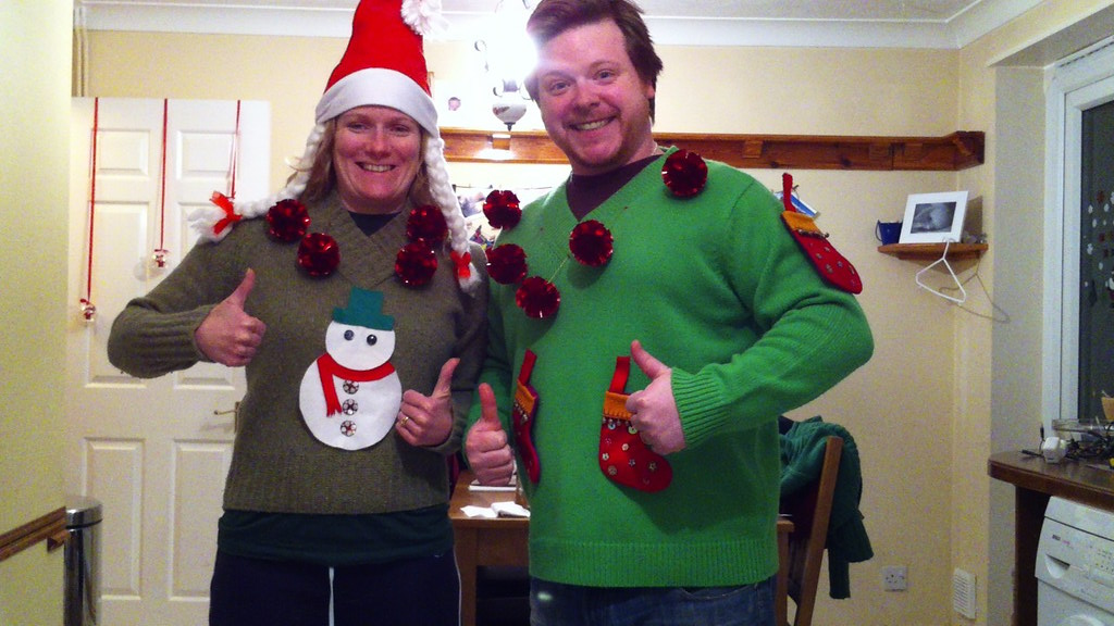 365.352a Ugly Christmas jumpers