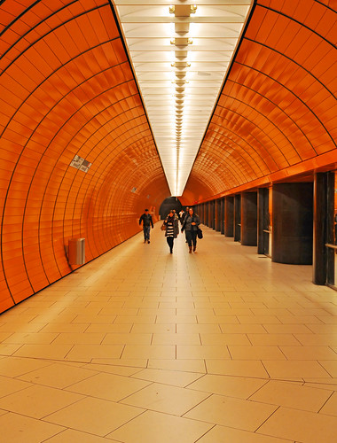 Walking in the subway station | by Tambako the Jaguar