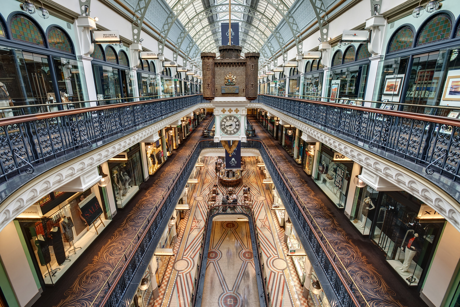 Upper Floors of the QVB