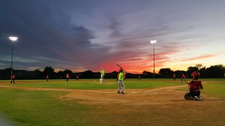 Ahhh nothing like Fall Ball.   #McCormickRanch #CentralScottsdale #Grayhawk #Baseball #farm #AZ #sunset #nofilter | by CentralScottsdale