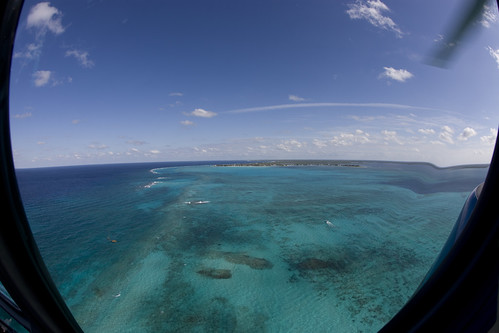 tour aerialview helicopter caymanislands grandcayman caribbeansea fisheyelense