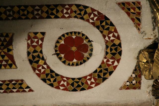 Mosaic at Rome's Sancta Sanctorum