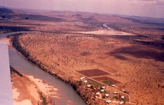 """1958 """"KRS looking north end of dry"""" [William (Bill) Wright MRD]"""