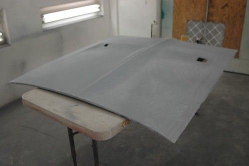 Bodywork complete - hood | by Tolley's Charger