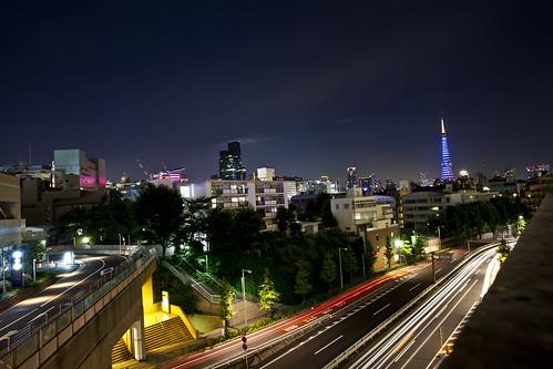Roppongi cityscape