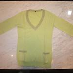 セーター TVCL05A11004 淡緑 ¥1,980