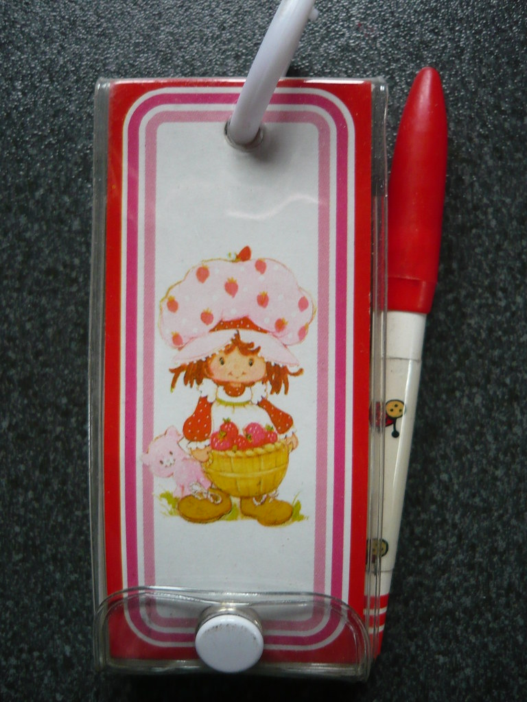 New Strawberry Shortcake Collectible Pen