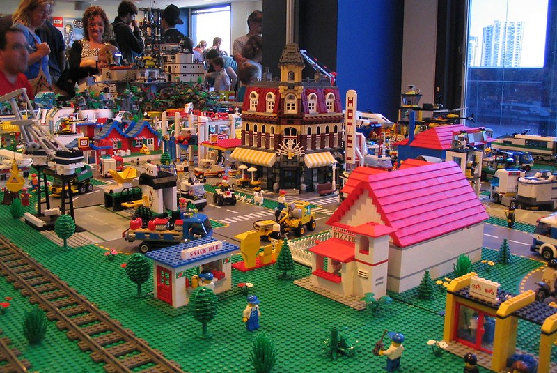 Lego city at Brickvention 2009