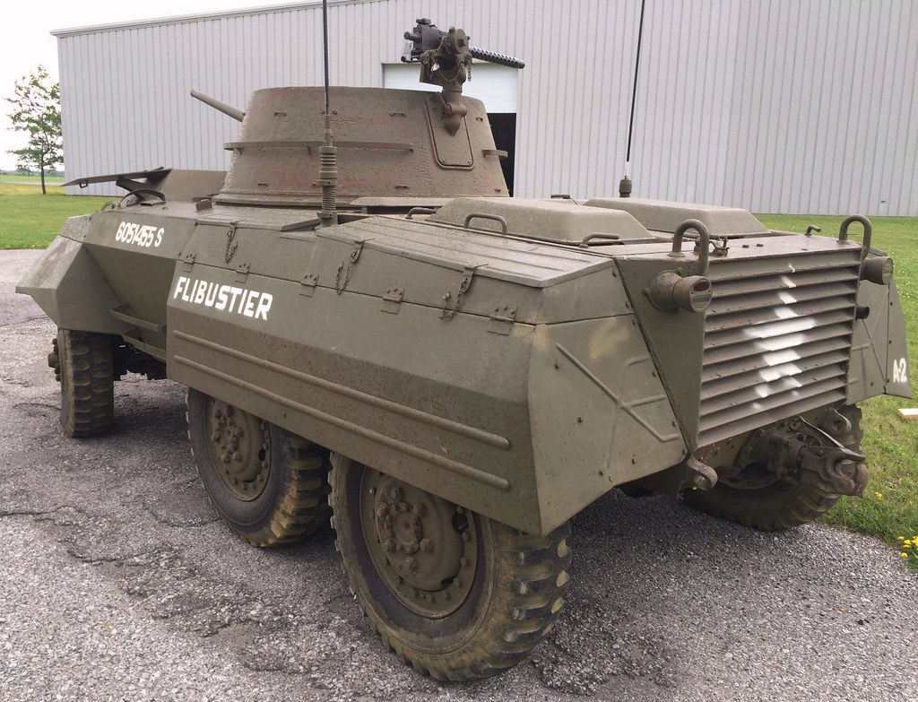 M8 armored car (rear) | Another view of the M8 for sale on E