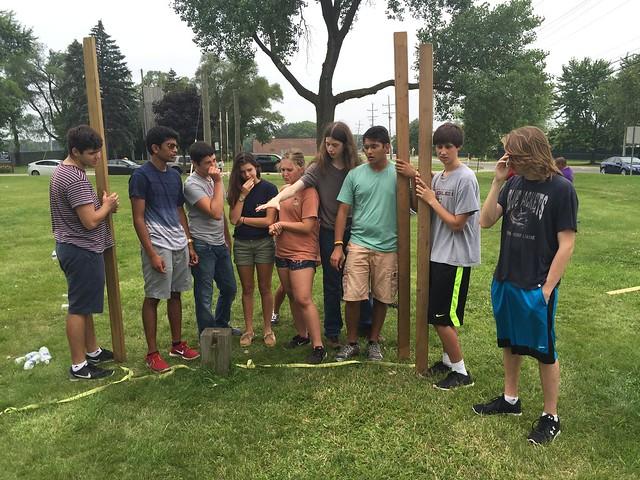 NSLC Engineering: Ropes Challenge July 11, 2015