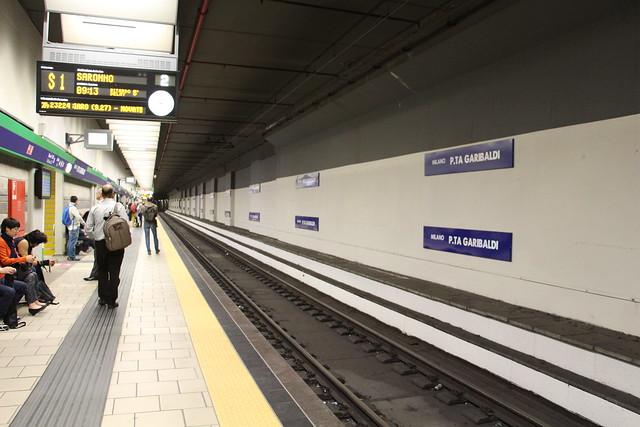 Milano - Porta Garibaldi Station