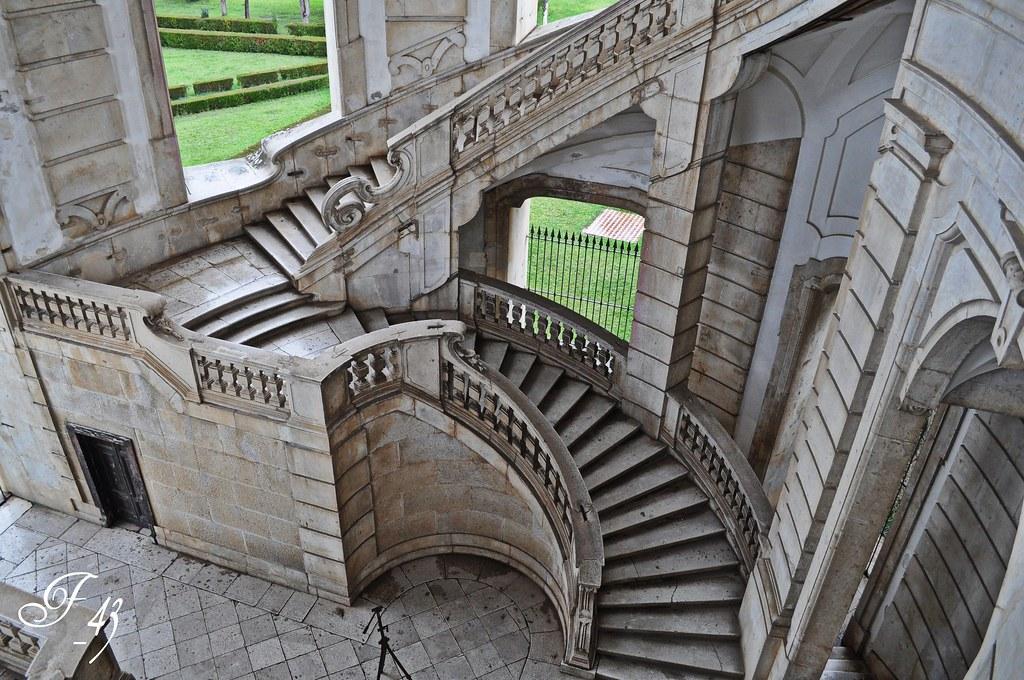 La Certosa di Padula. Scalone Monumentale