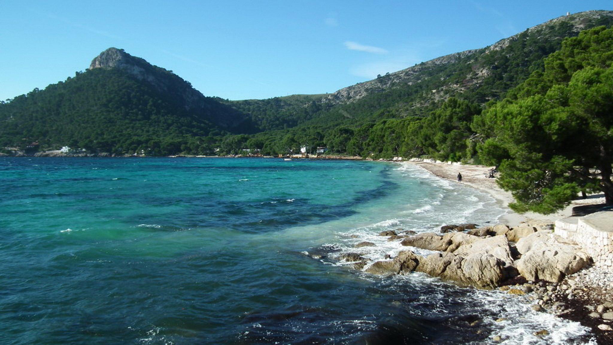 Calas y Playa de Formentor Mallorca