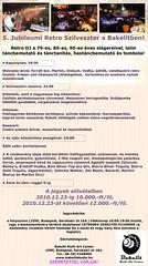 2010. december 10. 18:11 - 5. Jubileumi Retro Szilveszter a Bakelitben