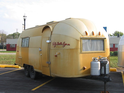 Airstream Factory  - Wally Byam gold airstream from Africa caravan | by Bob Country