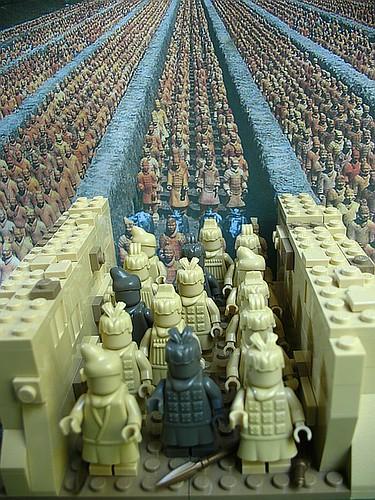 Terracotta Army - LEGO Style