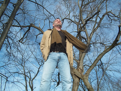 trees gay winter portrait sky selfportrait man scarf beard jeans saltandpepper project365 davidsullivan davidnewengland