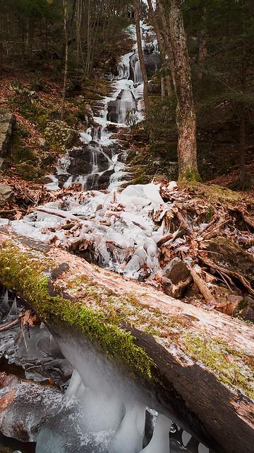 Winter at Buttermilk Falls, NJ