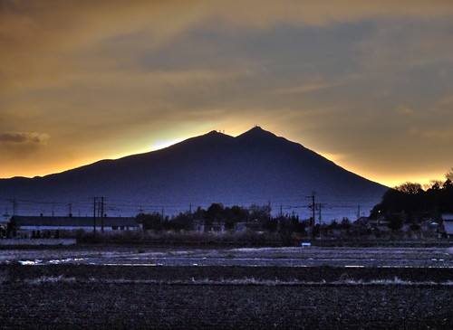 sunrise sony cybershot hdr ibaraki mttsukuba hx5v 初日の出、筑波山、下館、茨城