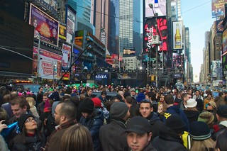 Just another typical Friday afternoon in Times Square... | by Ed Yourdon