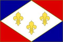 Flag of the restored Kingdom of France