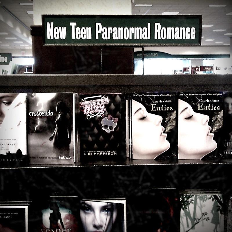 New teen paranormal romance