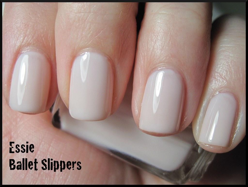 Essie Ballet Slippers | 2 coats with SV, under an OTT lamp. | Flickr
