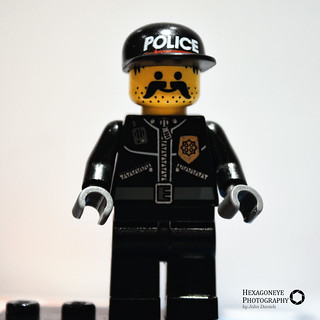 57/365 Gay Lego Cop | by Hexagoneye Photography