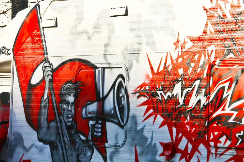 Belgique - Bruxelles - ABVV -FGTB - 24 mars 2011