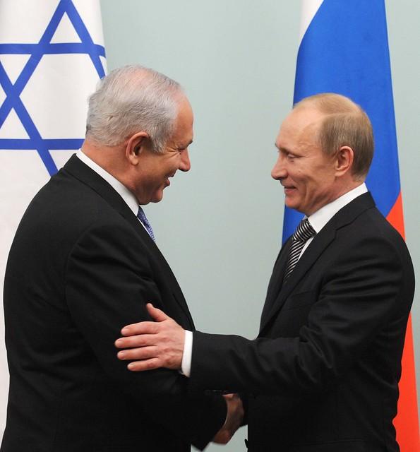 PM Netanyahu meets Russian PM Vladimir Puting, 24.3.11